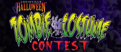 louisville halloween zombie costume contest