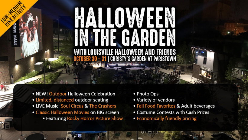 NEW for 2020! Halloween in the Garden