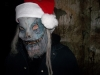 This Christmas freak is behind you right now.